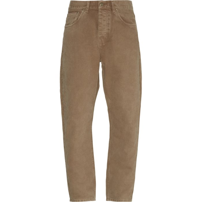 Newel Pant - Jeans - Relaxed fit - Brun